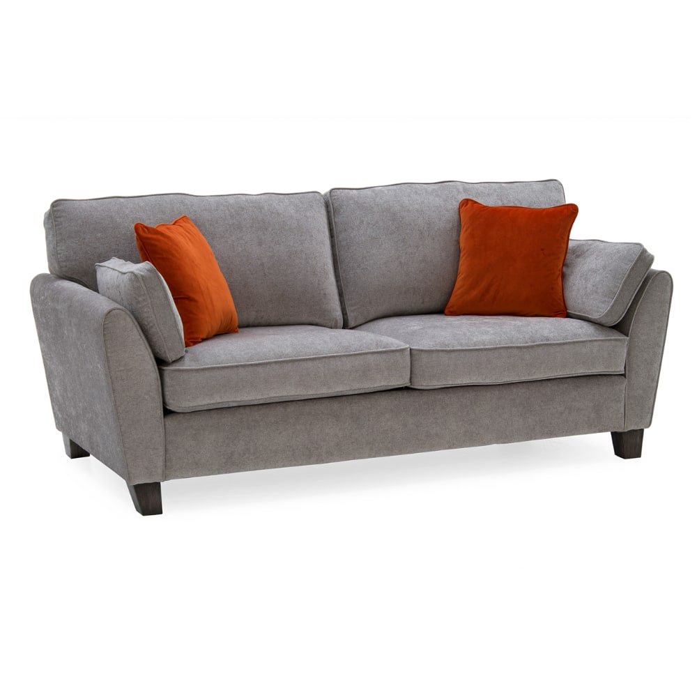 Cantrell 3 Seater Sofa - Angle - Value Flooring and Furniture