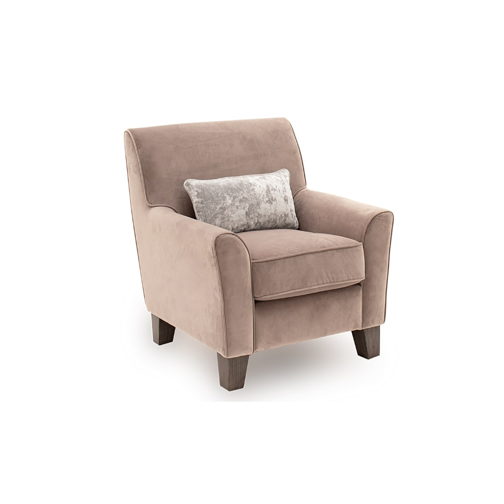 Cantrell Accent Chair - Taupe - Value Flooring and Furniture