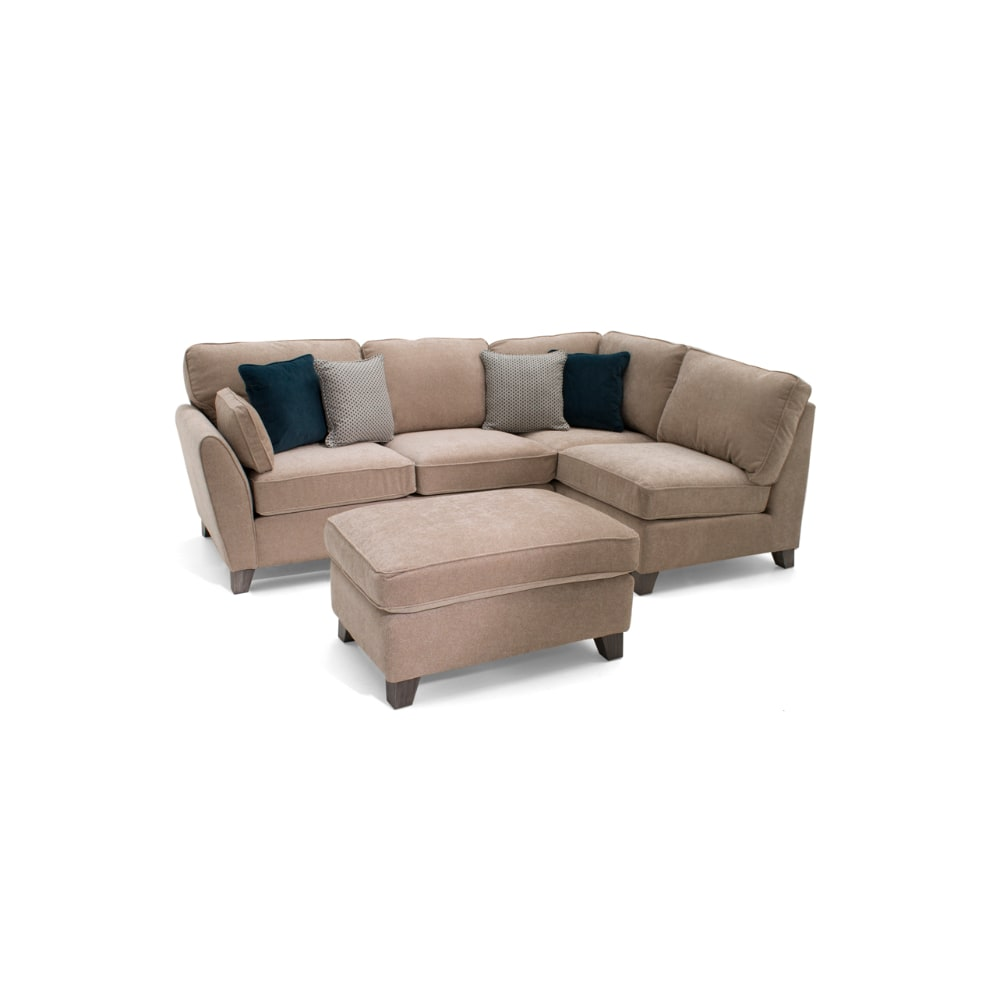 Cantrell Corner Sofa Group - Almond - Value Flooring and Furniture