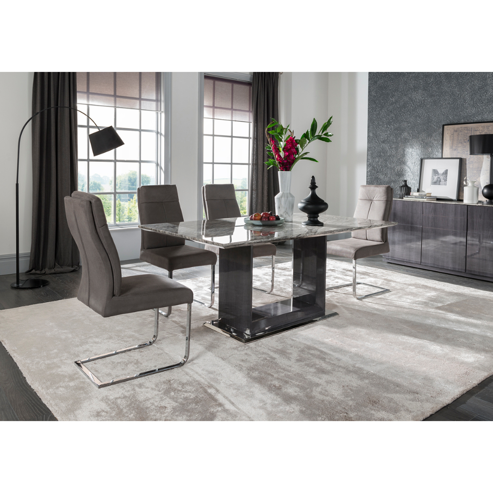 Donatella Dining Table 1600 Feature - Value Flooring and Furniture