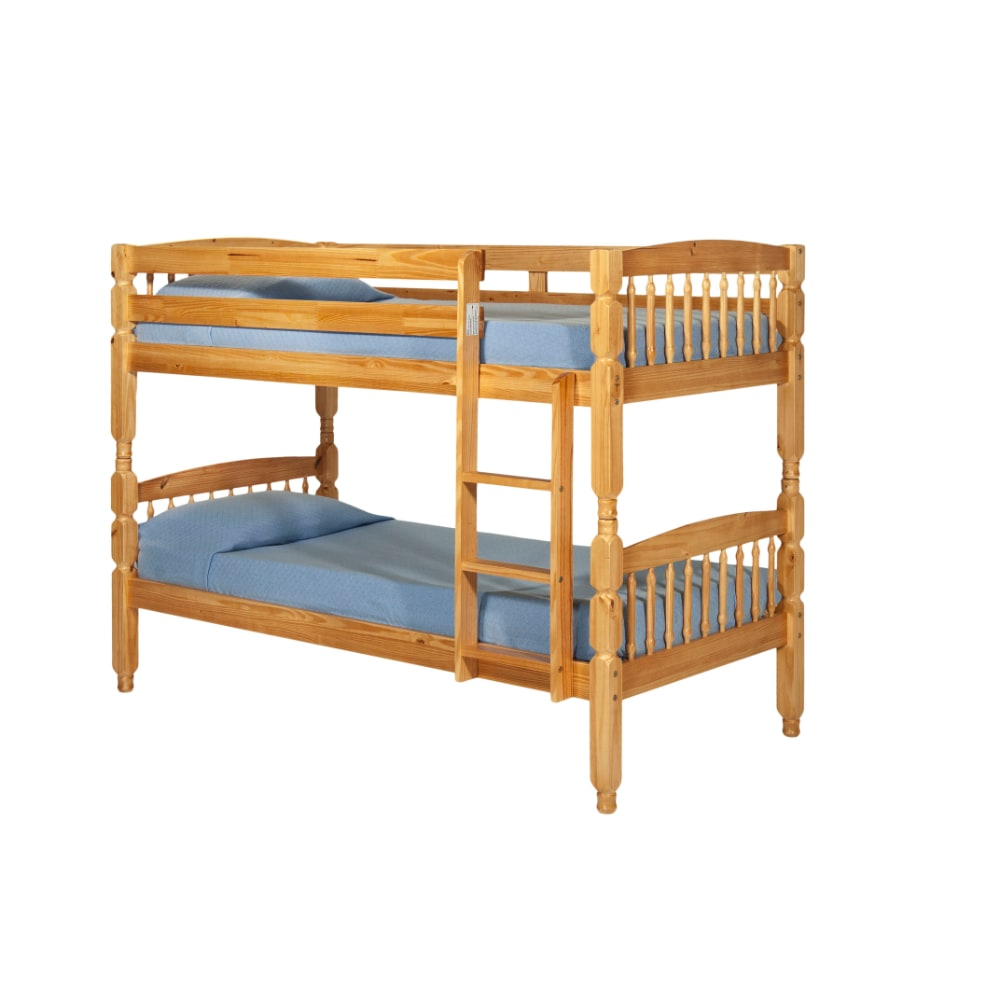 Alex 3' Bunk Bed - Honey - Value Flooring and Furniture
