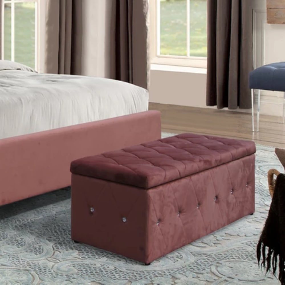 Aurora Blanket Box - Pink - Value Flooring and Furniture