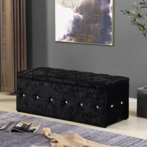 Blanket Box - Black - Value Flooring and Furniture