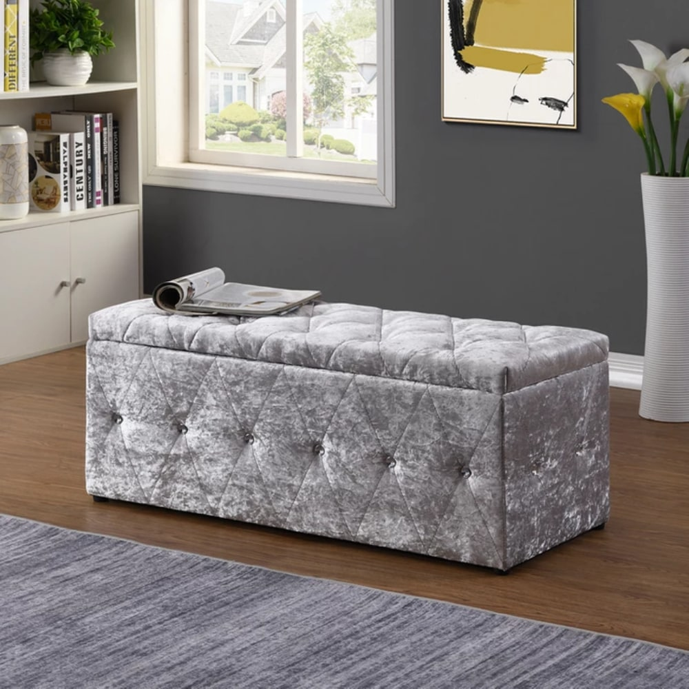 Blanket Box - Grey - Value Flooring and Furniture
