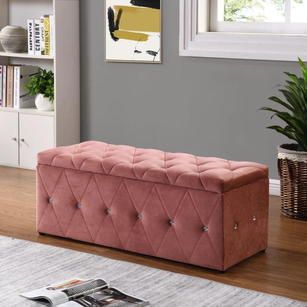 Blanket Box - Pink - Value Flooring and Furniture