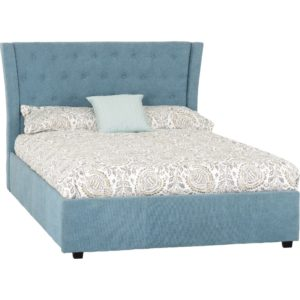 Camden 4ft6 Bed - Blue - Value Flooring and Furniture