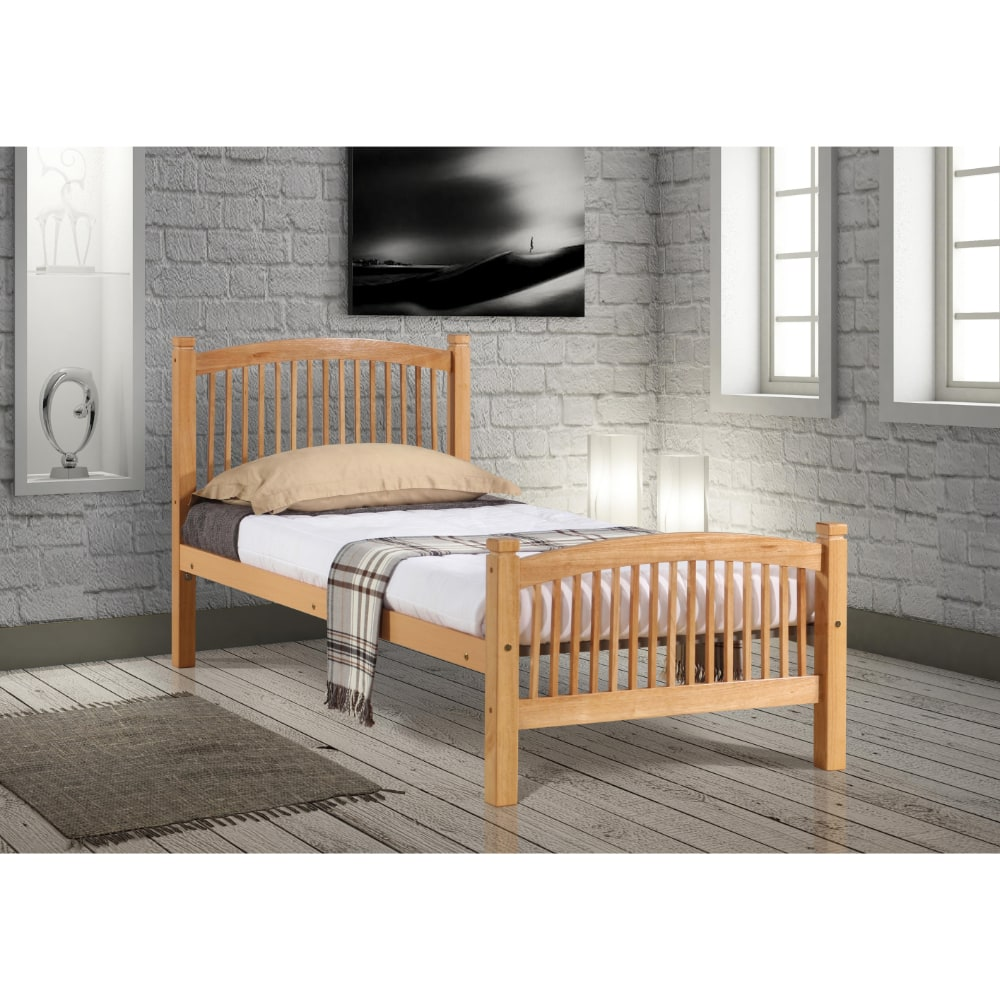 Carla 3' Bed - Beech - Value Flooring and Furniture