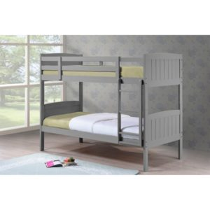 Cassie 3' Bunk Bed - Grey - Value Flooring and Furniture