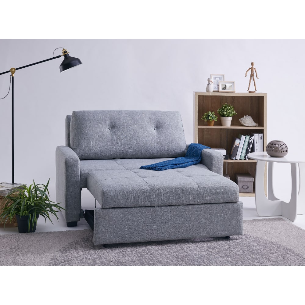 Davina Sofa Bed - Open - Value Flooring and Furniture