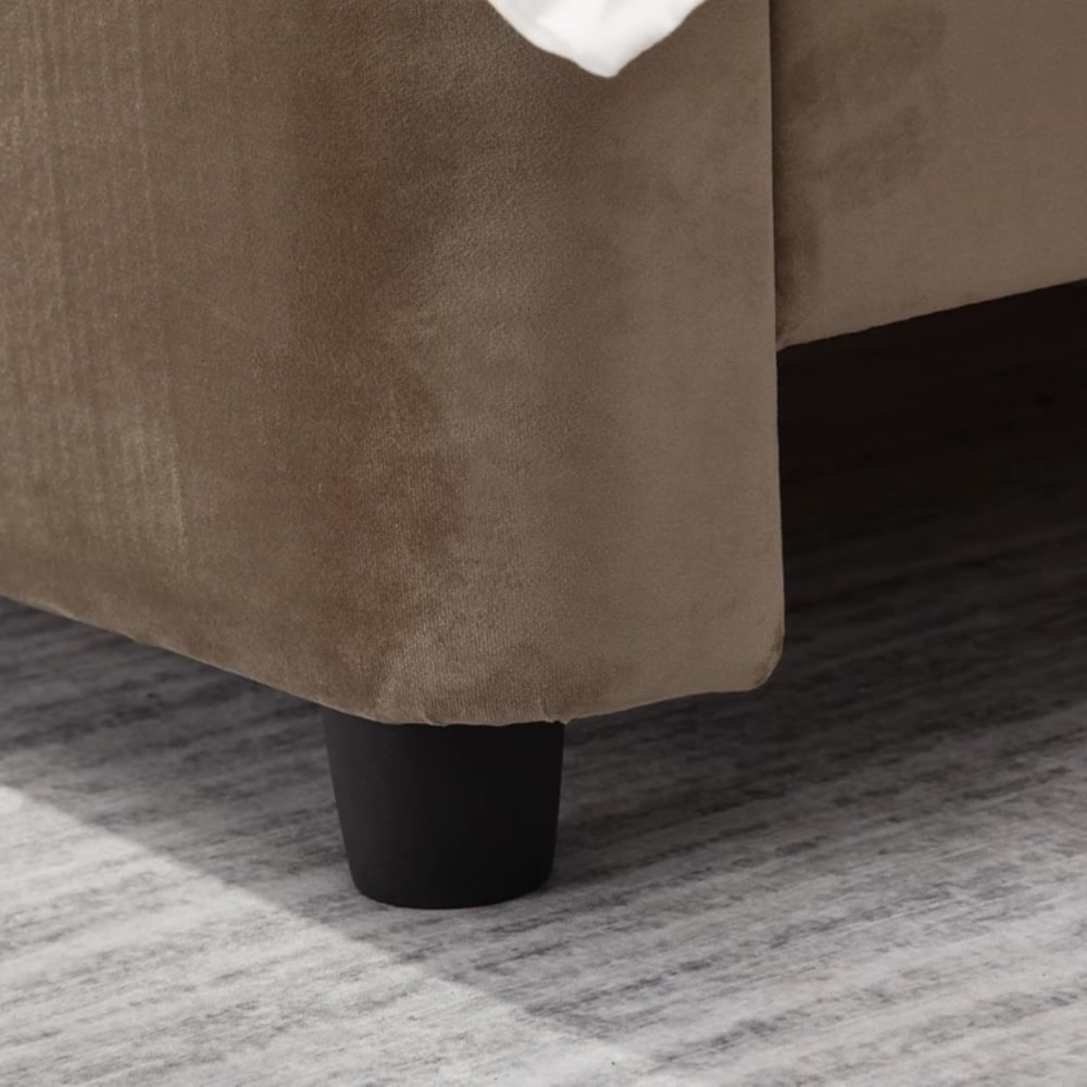 Florida Bed - Mink - Value Flooring and Furniture