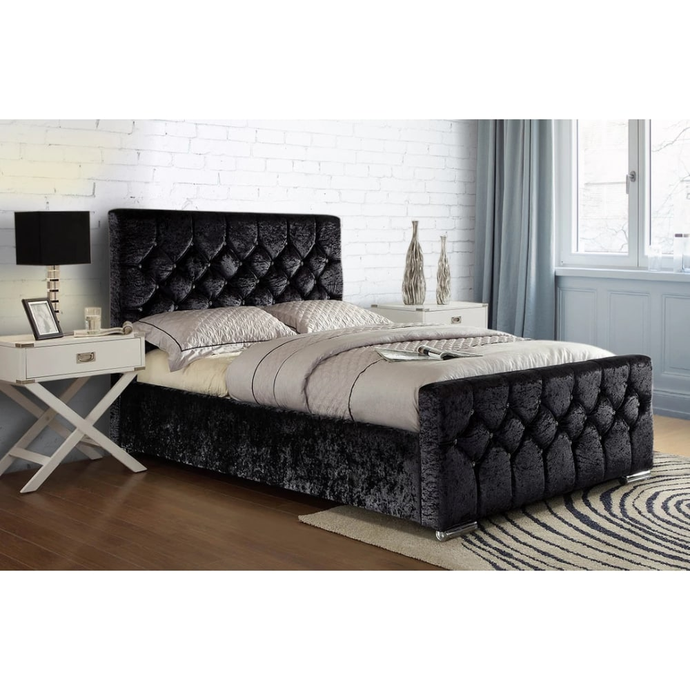 Galaxy Bed - Black - Value Flooring and Furniture