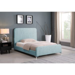 Hampton Bed - Teal - Value Flooring and Furniture