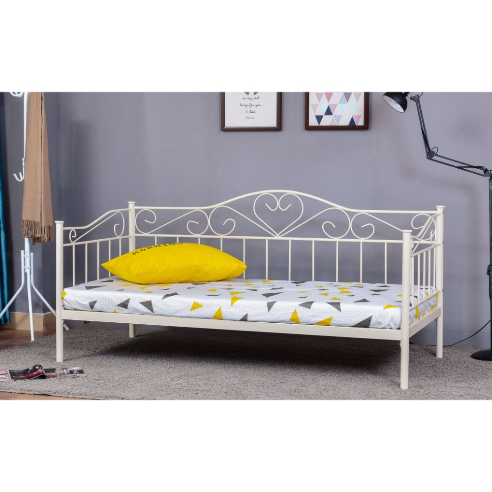 Lorraine Day Bed - White - Value Flooring and Furniture