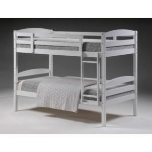 Mars 3' Bunk Bed - Grey - Value Flooring and Furniture