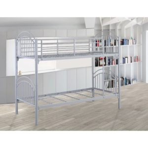 Moby 3' Bunk Bed - Grey - Value Flooring and Furniture