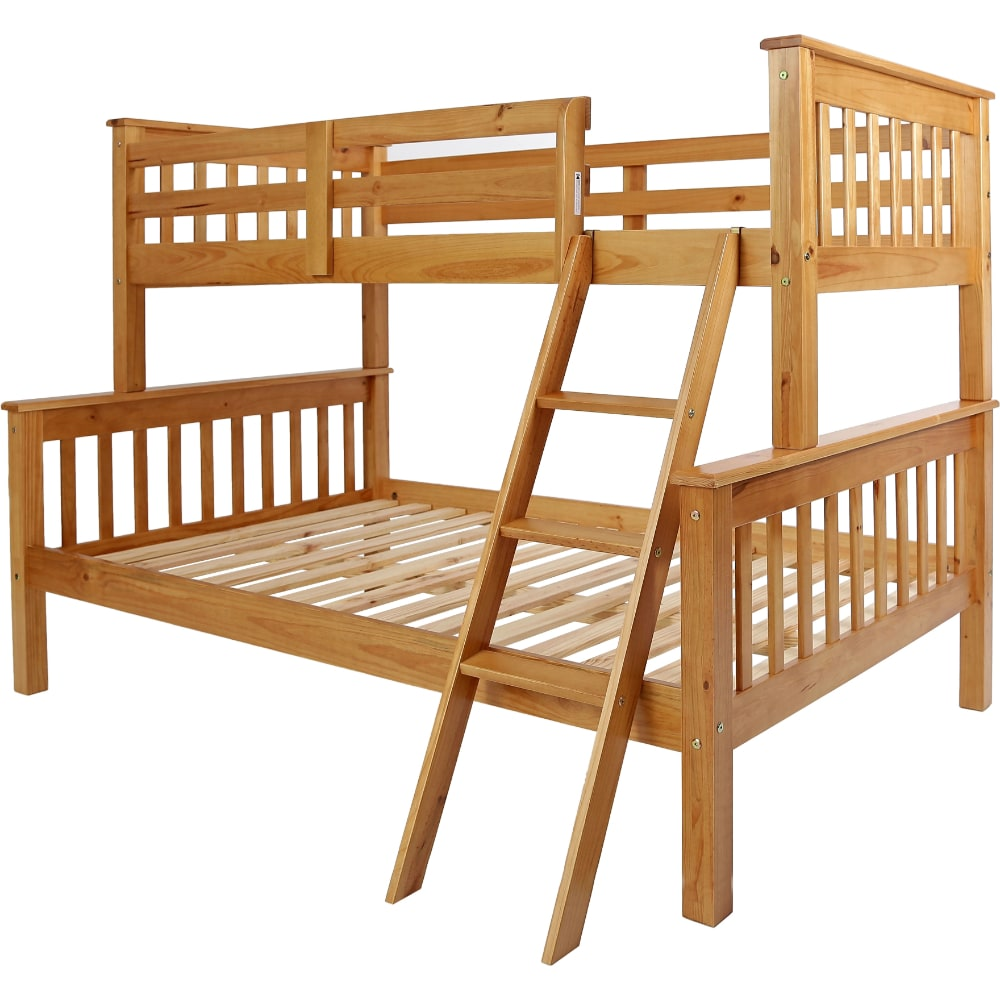 Neptune Triple Sleeper Bunk Bed - Value Flooring and Furniture