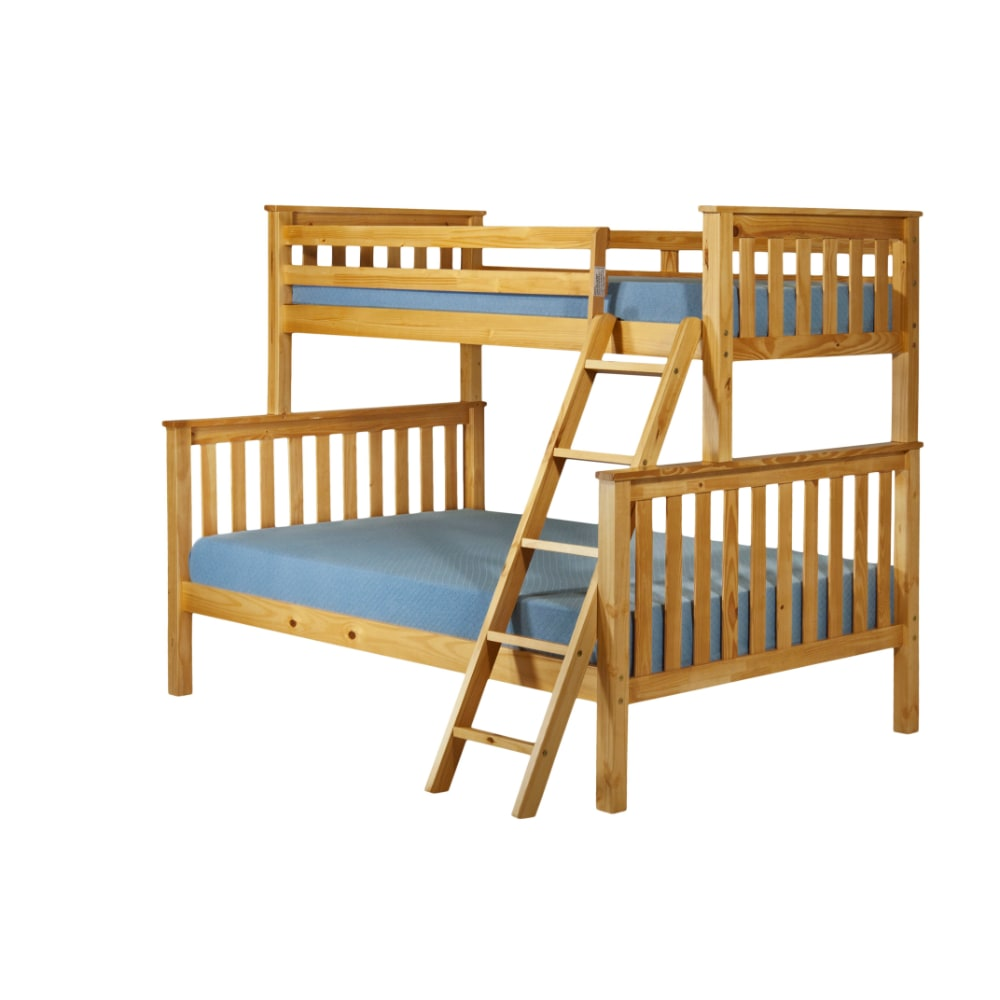 Triple Bunk Bed - Honey - Value Flooring and Furniture