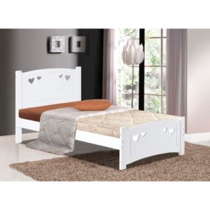 Vogue 3' Bed - White - Value Flooring and Furniture
